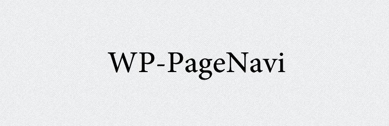 wp-pagenav